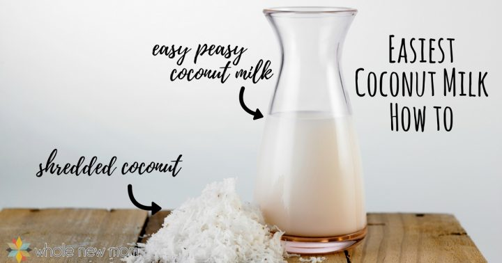 Homemade coconut milk recipe Thursday 11am